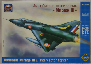 Ark Models 1/72 72030 Dasssault Mirage IIIE